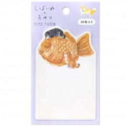 Sticky note Shibata Taiyaki Japanese stationery