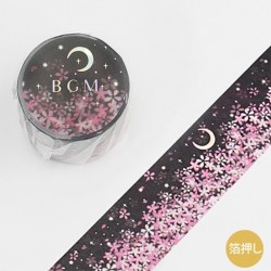Washi tape Moonlight Sakura...