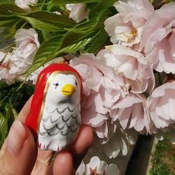 Amabie par Ichinomiya en céramique artisanale japonaise