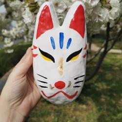 Kitsune mask clay...