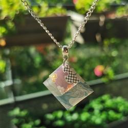 Necklace japanese cloud Koneko handmade