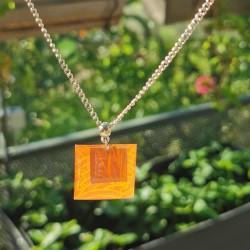 Necklace orange japanese...