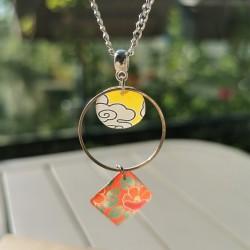 Necklace sakura japanese...
