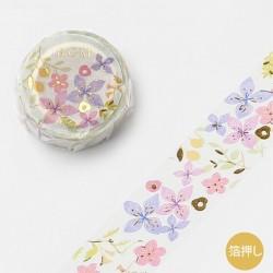 Washi tape Ink Botanical japanese stationery 2021