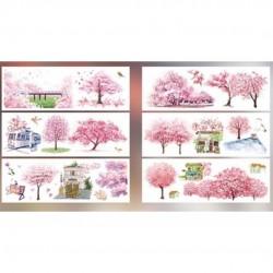 Stickers série de scènes de printemps papeterie Japon