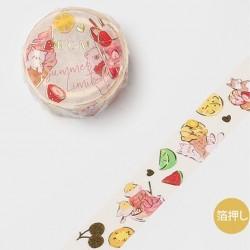 Washi tape Animal sweets...