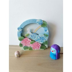 Pop-up card hydrangea and...