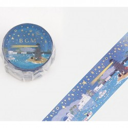 Washi tape Lighthouse in...