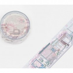 Washi tape City by the sea Little World collection BGM