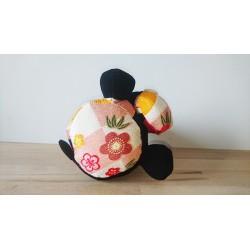 Des motifs stylisés traditionnels japonais.