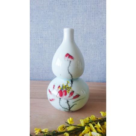 Vase gourde porcelaine de Chine