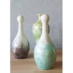 Vase cristallisée ensemble