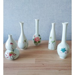 Ensemble de vase en porcelaine de Chine Wanglong