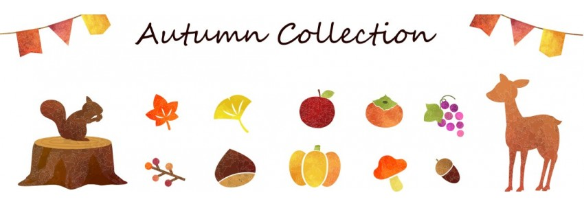 Autumn cosy in Japan collection : stationery and handcraft items